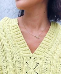 STELLA logo necklace
