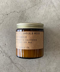 P.F.Candle Co.(ピーエフキャンドル)Soy Wax Candle/3.5oz/11.AMBER&MOSS