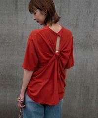 note et silence(ノートエシロンス)バックツイストTシャツ 14.ORG
