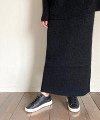 SACRA(サクラ)120630012 キッドモヘアスカート 990.BLACK