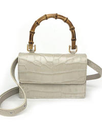 theory luxe(セオリーリュークス)Villa Leather Cocco 0160937 バッグ 001.off white