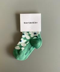 marimekko(マリメッコ)Umika キッズソックス 32.L.BEG/SAX