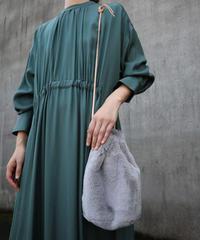 MEISSI(メイシ)巾着バッグ 94.grey