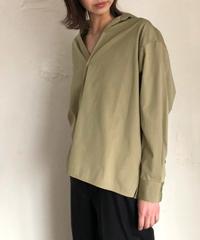 TICCA(ティッカ)0201401077 スキッパーシャツ khaki
