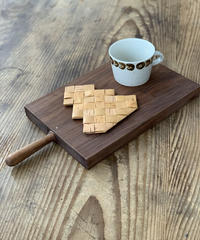 白樺ツリーコースター&カメリアカップ(茶)
