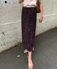 ヴィンテージ  ペイズリースカート