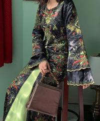 ヴィンテージ  刺繍ドレス