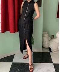 ヴィンテージ ジャガード ドレス
