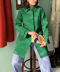 ヴィンテージ  グリーンカラーコート