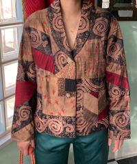 ヴィンテージ シルクジャケット