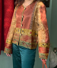 ヴィンテージ 刺繍ジャケット