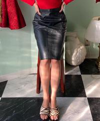 ヴィンテージ レザースカート