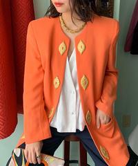 ヴィンテージ  オレンジ ジャケット