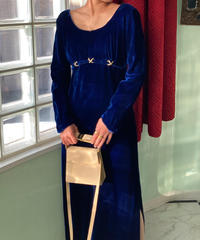 ヴィンテージ ベルベットドレス