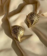 ヴィンテージ 鳥の趾モチーフ イヤリング