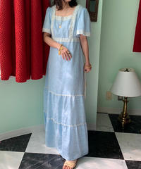 アイスブルー ドレス