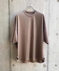 VU - basic t-shirt [ LIGHT BROWN ]