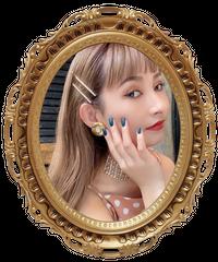 【pour Mademoiselle】スリムラインストーンヘアピン 2Pセット