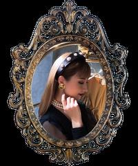 【pour Mademoiselle】パールスタッズカチューシャ
