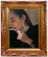【pour Mademoiselle】パールフープ  イヤリング/ピアス