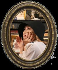 【pour Mademoiselle】ビギン帽 ブラック