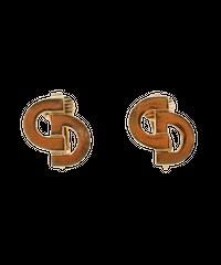 【Dior】ロゴデザインイヤリング