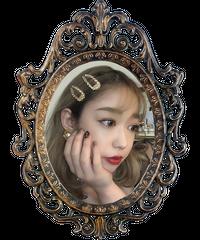 【pour Mademoiselle】ラインストーンゴールドヘアピン