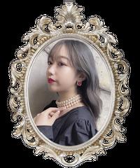 【pour Mademoiselle】ミニカラービジューラインストーンピアス レッド
