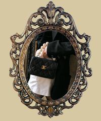 【pour Mademoiselle】ビッグパールオプションチェーンハンドル