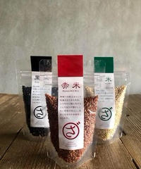 まるざ発芽玄米研究所 黒米・赤米・緑米 95g
