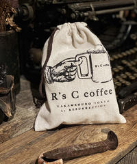 R's C coffee Drawstring bag (LOGO)
