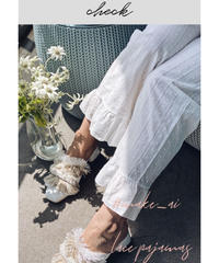 (select別注)レースパジャマ(ホワイト)