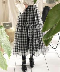 即納(original)ギンガムチェックスカート