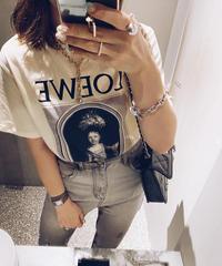 (select)ロゴTシャツ