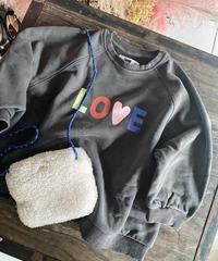 即納KIDS(select)LOVE スウェット