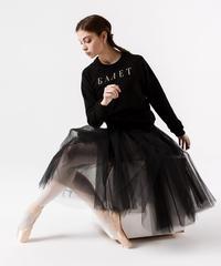 [Ballet Maniacs・Ready to Wear] Black Tulle-skirt Maxi