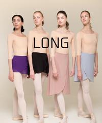 [Zidans] Wrap skirt ・L丈:4型