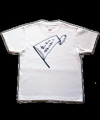 楽しくないと俳句じゃないTシャツ/ホワイト