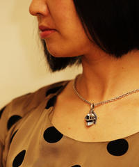 R-birth helm logo silver pendant