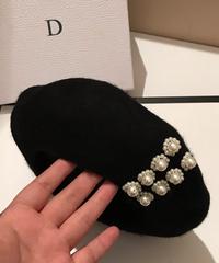 ビジューベレー帽