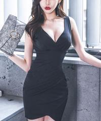 セクシーカットタイトミニドレス