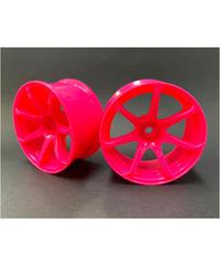 【IW-1207PK】AVS MODEL T7ホイル オフセット7 ピンク