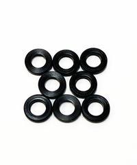 【TP-5210】黒色デルリンスペーサー M3.0用 厚さ1.0mm