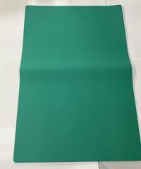 【TP-67GR】カラフルピットマット(無地) グリーン