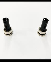 【TP-81BK】フロント用ボディマウントキャップ マグネットタイプ タミヤ用(6mm)ブラック