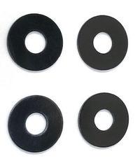 【TP-150】ホイールオフセットスペーサー ブラック 0.5mm厚