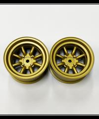 【WAT-100G】RSワタナベ エイトスポークホイル オフセット10 ゴールド