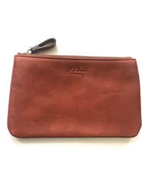 8511 BREV/LEATHER POUCH M/   BROWN(40)