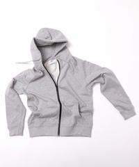 Raglan Zip Hooded Sweatshirt T/GRY 19S-104