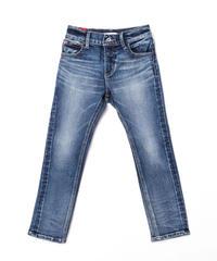 Kids Hyper Stretch Denim Jeans Mid Blue 19F-226